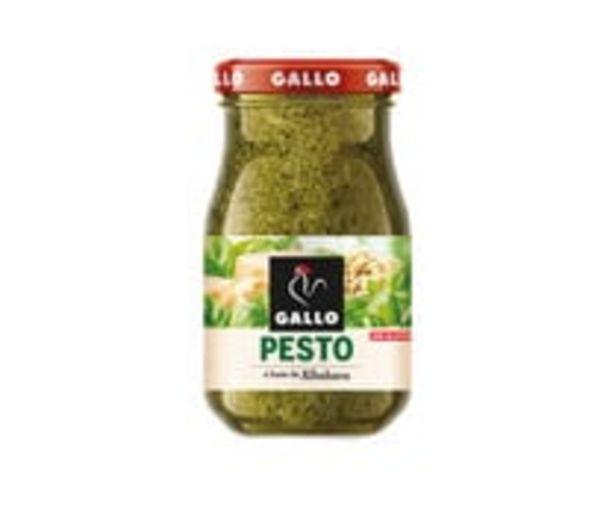 Oferta de Salsa Pesto a base de albahaca GALLO 190 g por 1,57€
