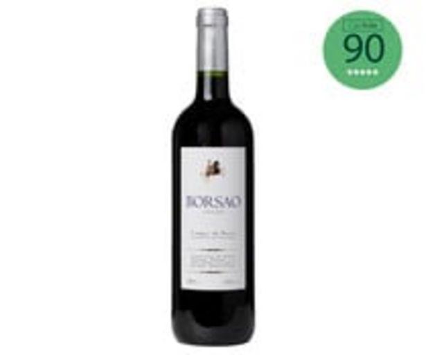 Oferta de Vino tinto con denominación de origen Campo de Borja BORSAO botella de 75 cl. por 2,39€