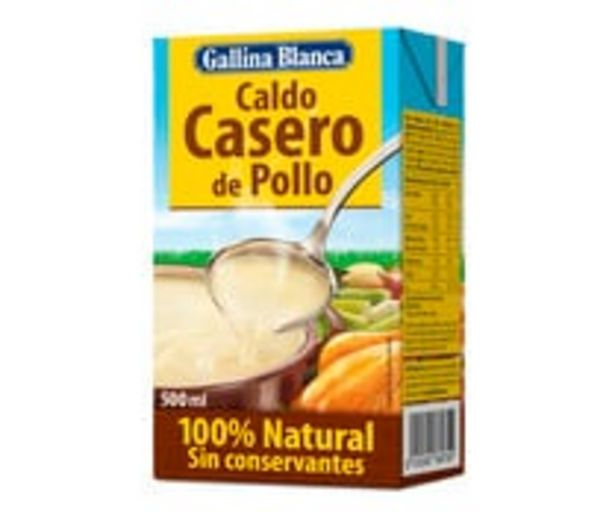 Oferta de Caldo casero pollo GALLINA BLANCA 500 ml. por 1,07€
