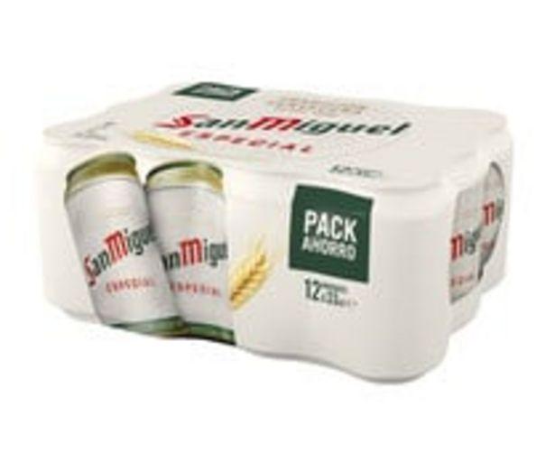 Oferta de Cervezas SAN MIGUEL pack de 12 latas de 33 cl. por 6,29€