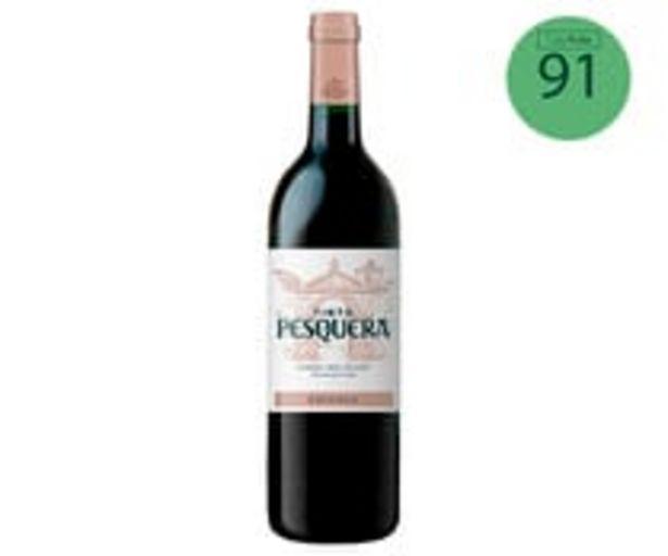 Oferta de Vino tinto crianza con denominación de origen Ribera del Duero PESQUERA botella de 75 cl. por 17,81€