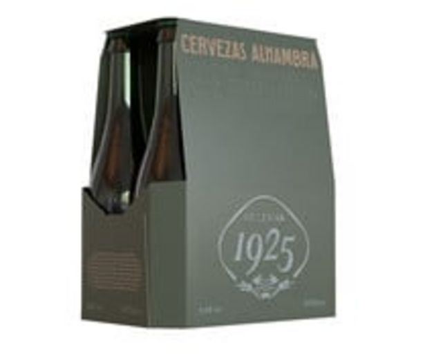 Oferta de Cervezas ALHAMBRA RESERVA 1925 pack  6 uds. x 33 cl. por 6,73€