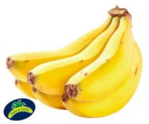 Oferta de Plátano de Canarias (Indicación Geográfica Protegida) ALCAMPO PRODUCCIÓN CONTROLADA bandeja 700 g. por 2,49€