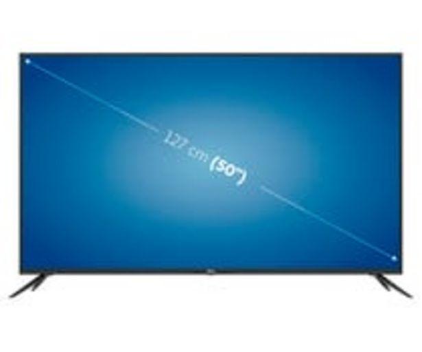 "Oferta de Televisión 127 cm (50"") LED QILIVE 50US211B1B 4K, HDR 10, SMART TV, WIFI, TDT T2, USB reproductor, 3HDMI, 60HZ. por 399€"