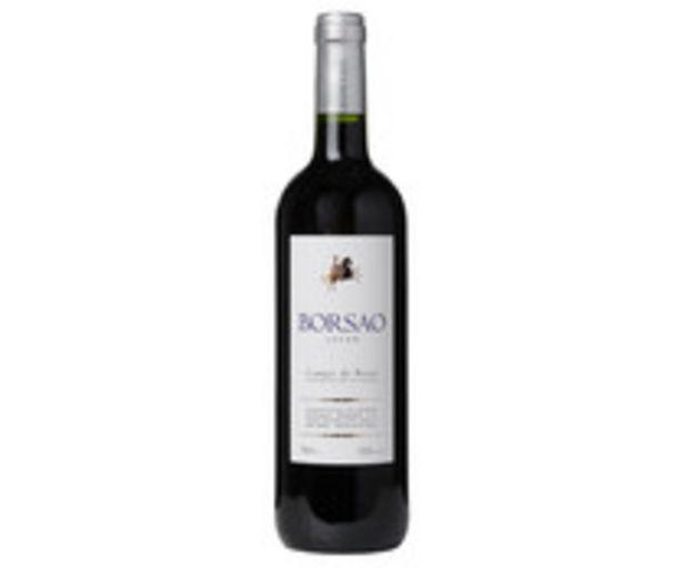Oferta de Vino tinto con denominación de origen Campo de Borja BORSAO botella de 75 cl. por 2,68€