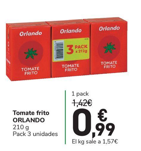 Oferta de Tomate frito ORLANDO por 0,99€