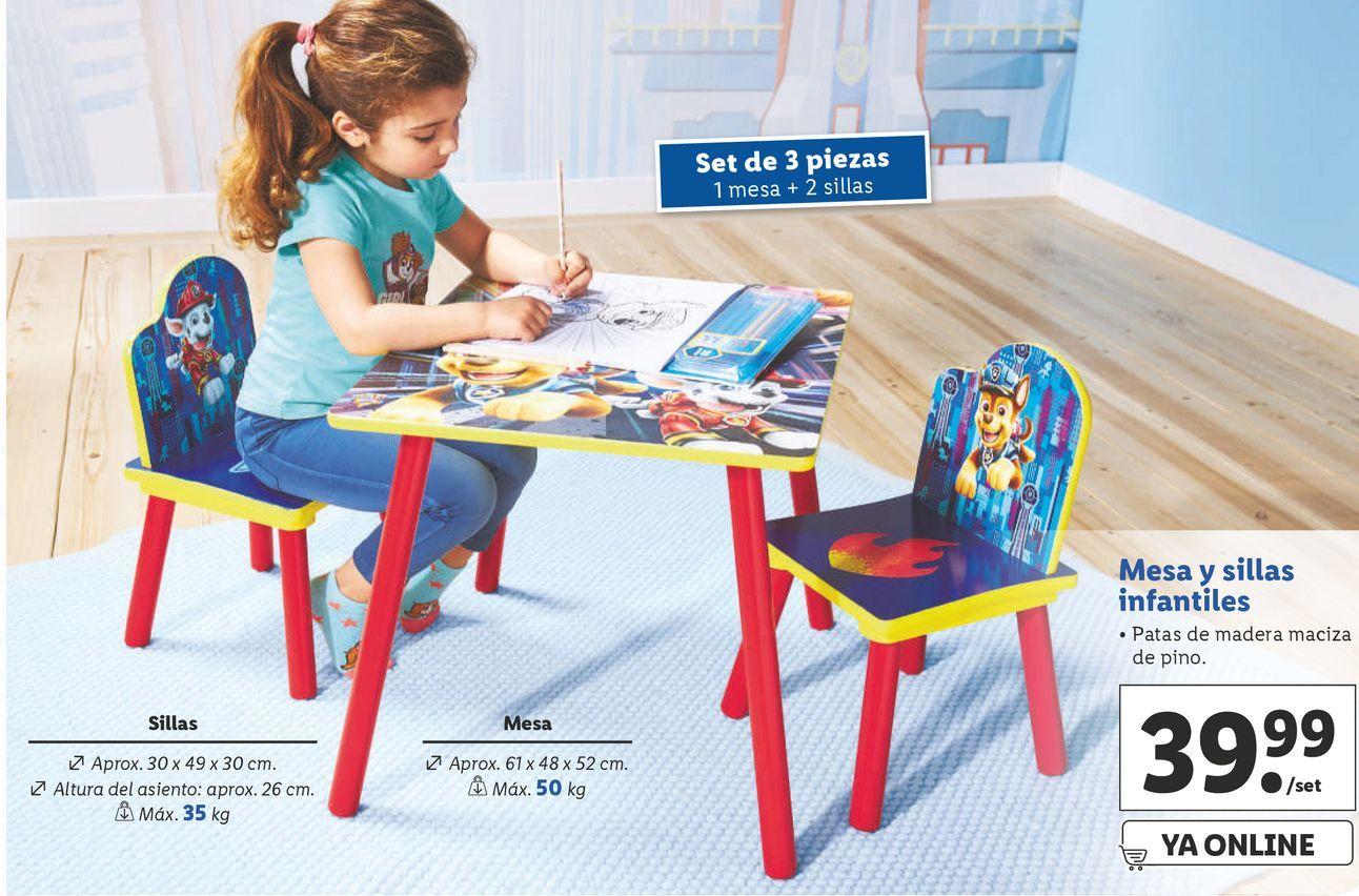 Oferta de Mesa infantil por 39,99€