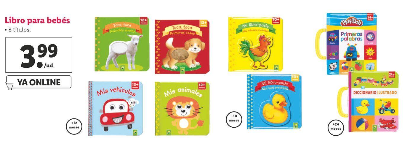Oferta de Libros infantiles por 3,99€