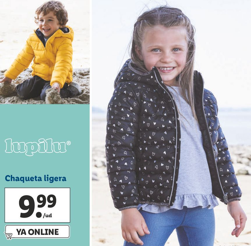 Oferta de Chaqueta niña Lupilu por 9,99€