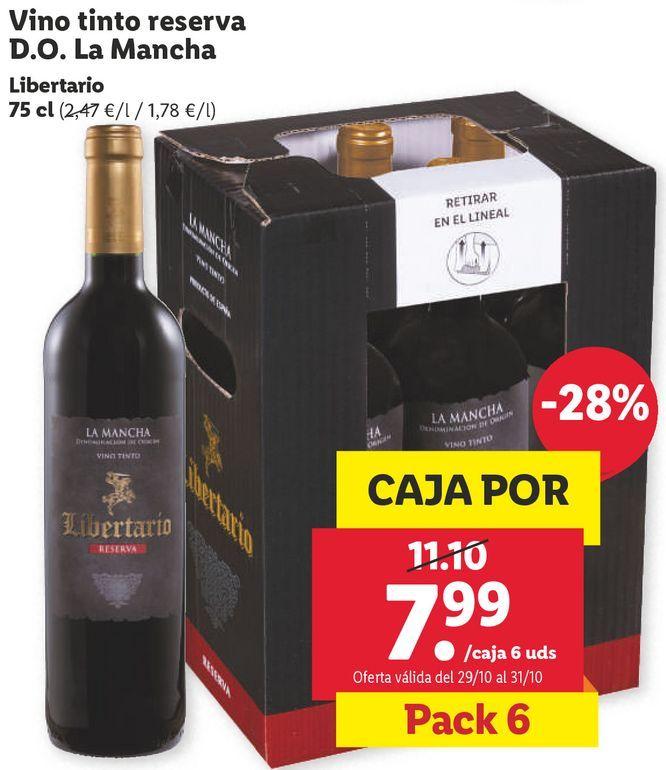 Oferta de Vino tinto por 7,99€