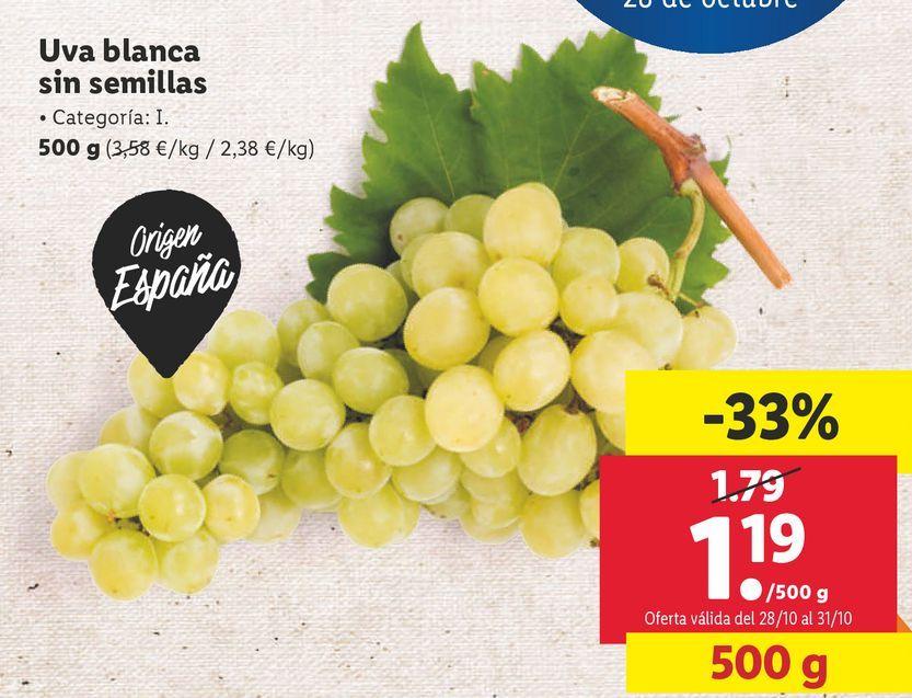 Oferta de Uvas por 1,19€