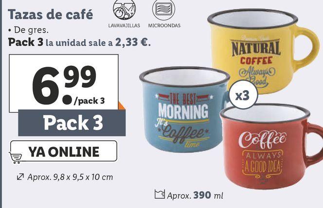 Oferta de Tazas por 6,99€