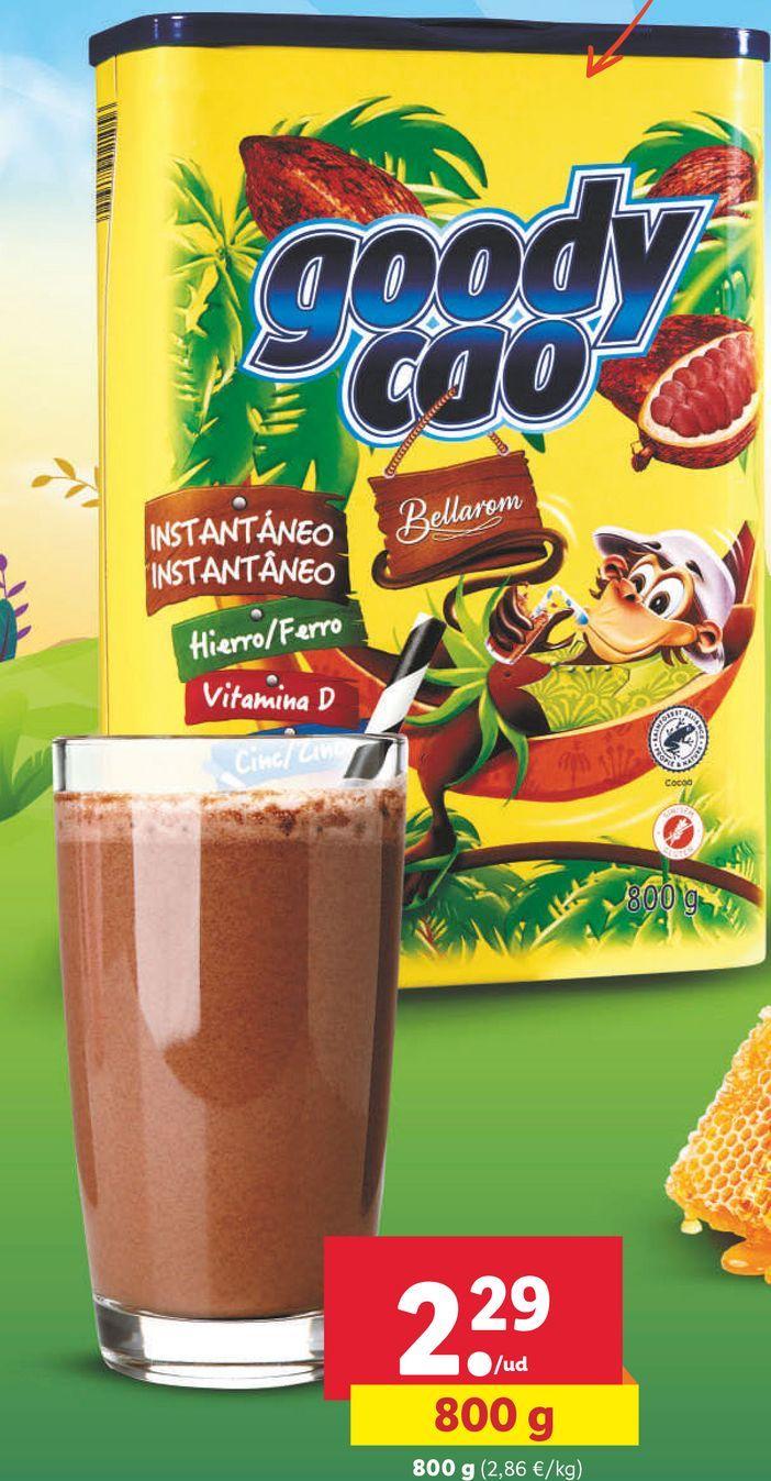 Oferta de Cacao soluble por 2,29€