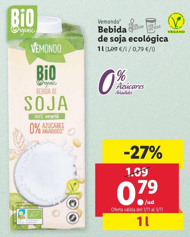 Oferta de Bebida de soja por 0,79€