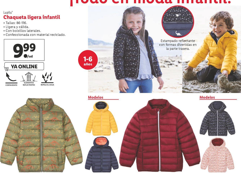 Oferta de Chaqueta niño Lupilu por 9,99€