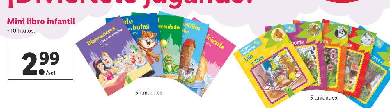 Oferta de Libros infantiles por 2,99€