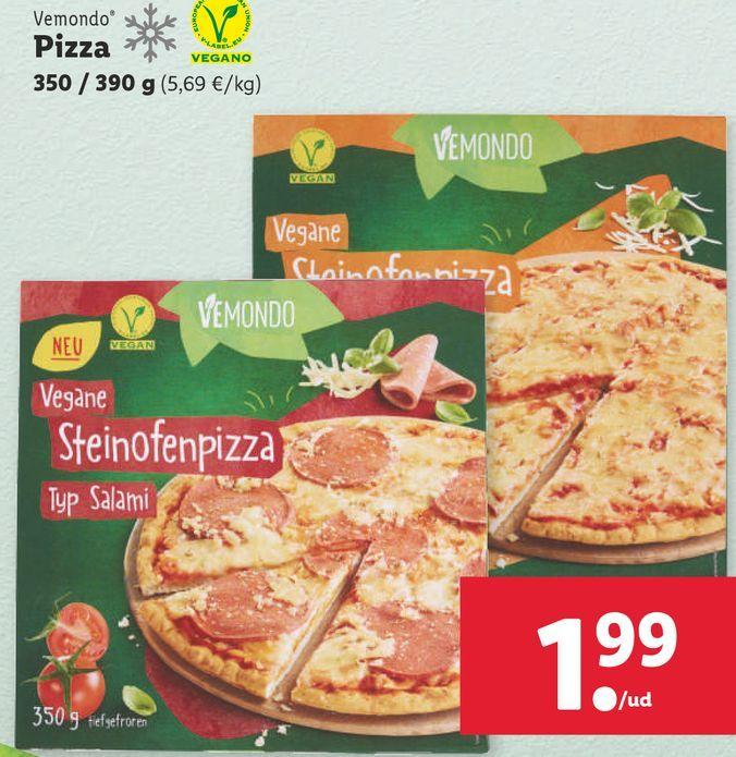 Oferta de Pizza por 1,99€