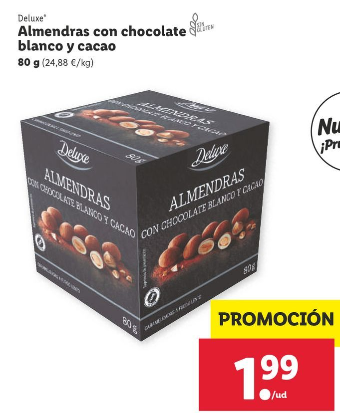 Oferta de Almendras Deluxe por 1,99€