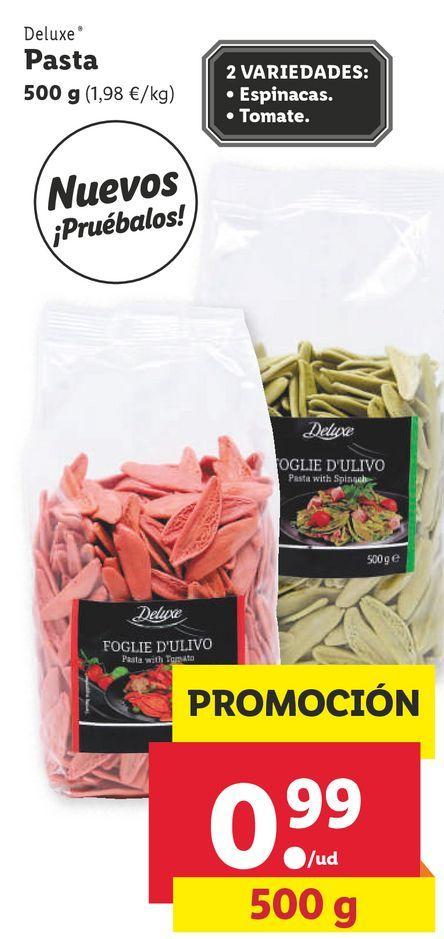 Oferta de Pasta Deluxe por 0,99€