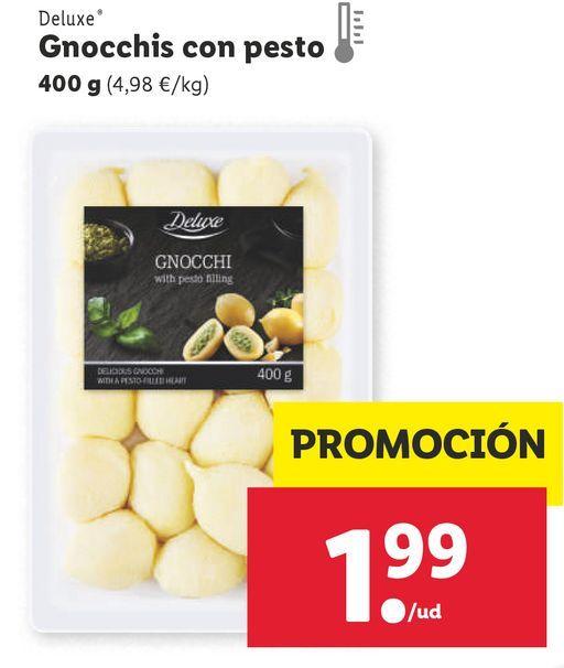 Oferta de Gnocchi Deluxe por 1,99€