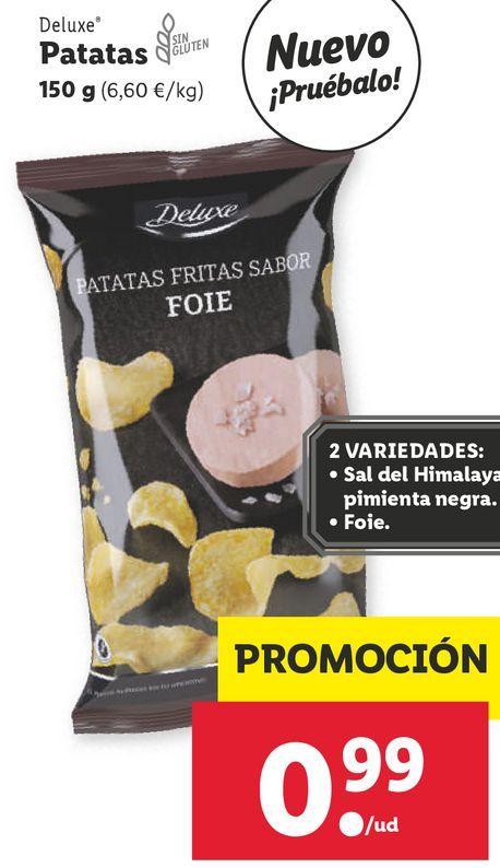 Oferta de Patatas Deluxe por 0,99€