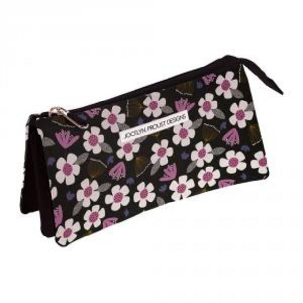 Oferta de Portatodo 3 compartimentos Floral Jocelyn Proust por 6,95€