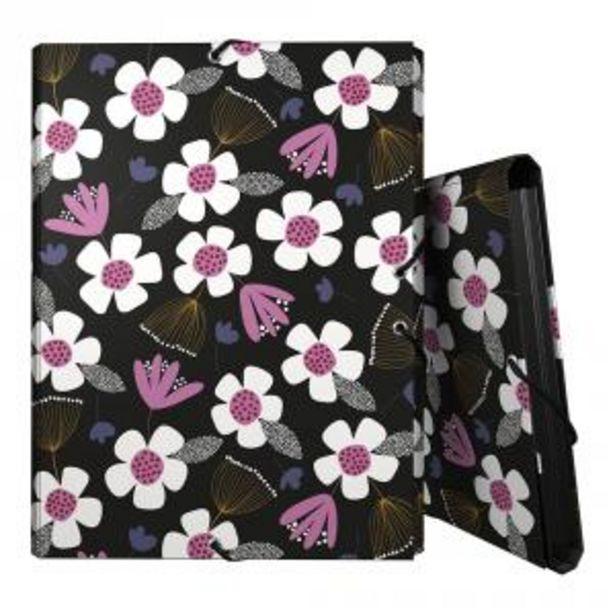 Oferta de Carpeta folio 3 solapas Floral Jocelyn Proust por 3,9€