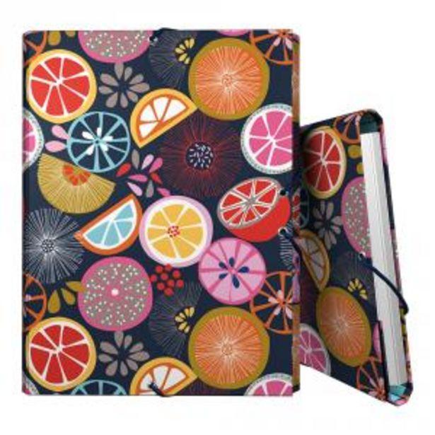 Oferta de Carpeta folio 3 solapas Orange Jocelyn Proust por 3,9€
