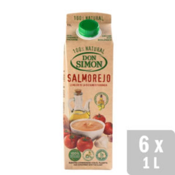 Oferta de Salmorejo Tradicional Refrigerado 6 uds. x 1L por 12€