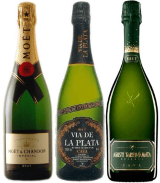 Oferta de Selección Champagne y Cavas por 60,59€