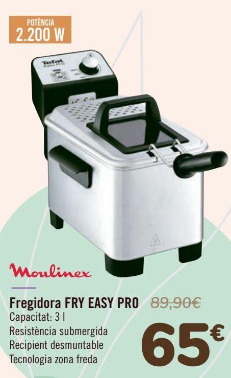 Oferta de Moulinex Freidora FRY EASY PRO  por 65€