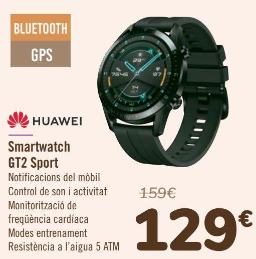 Oferta de HUAWEI Smartwatch GT2 Sport por 129€