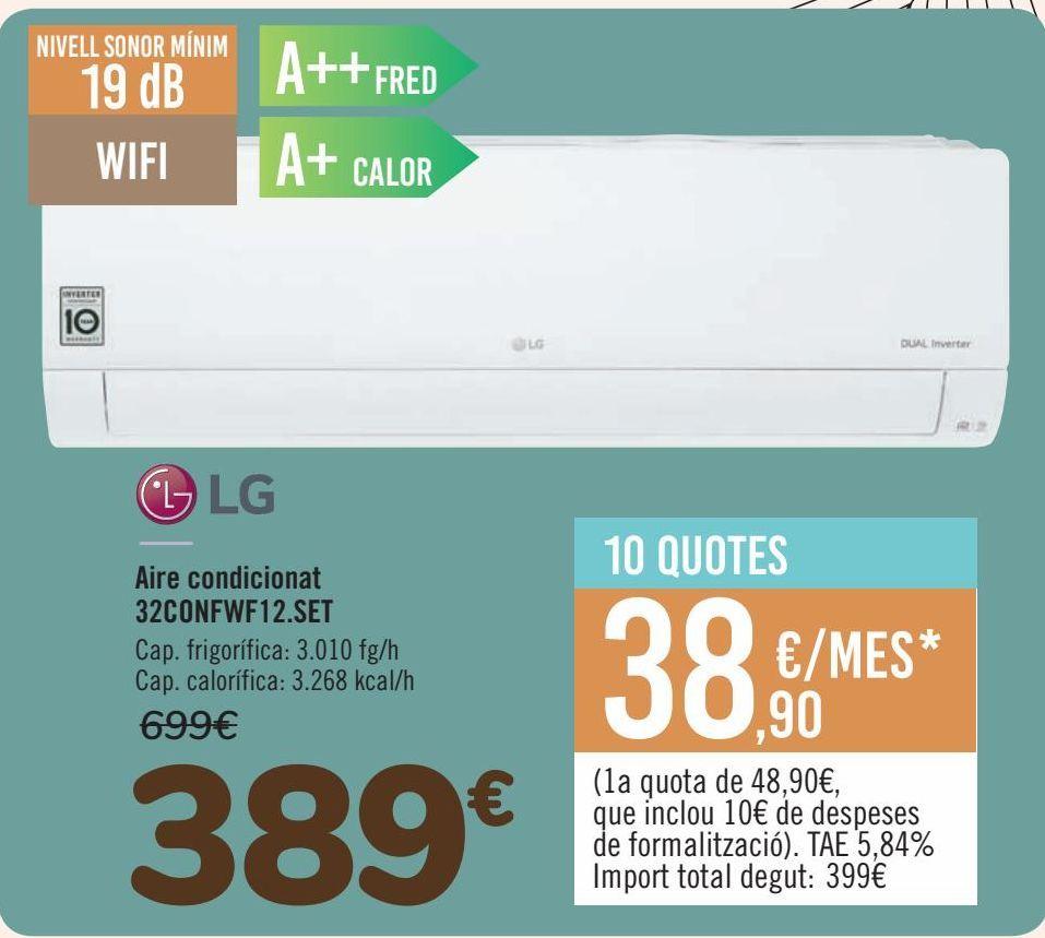 Oferta de Aire Acondicionado 32CONFWF12.SET  por 389€
