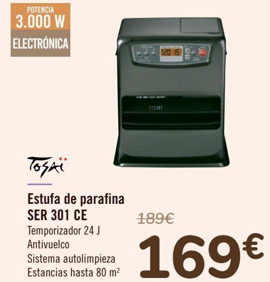 Oferta de Estufa de parafina SER 301 CE  por 169€