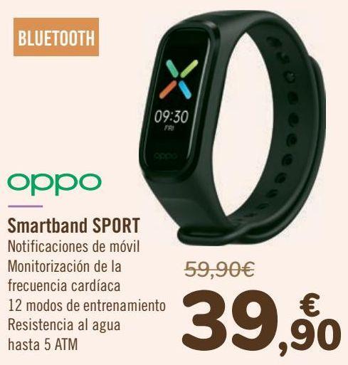 Oferta de OPPO Smartband SPORT por 39,9€