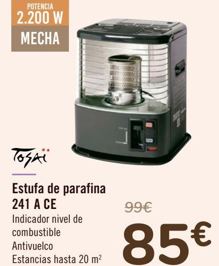 Oferta de Estufa de parafina 241 A CE  por 85€