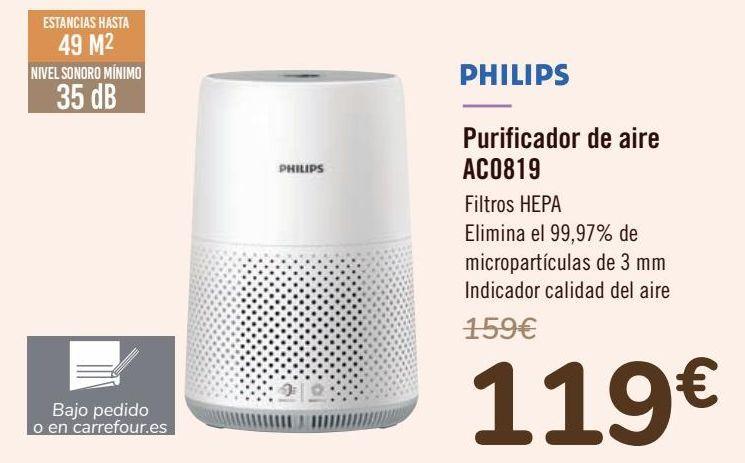 Oferta de PHILIPS Purificador de aire AC0819 por 119€