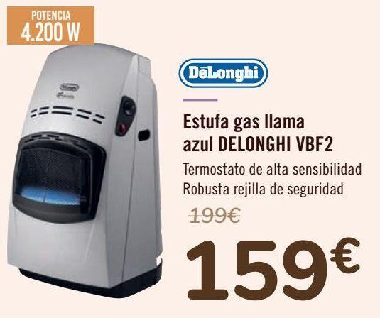 Oferta de Estufa gas llama azul DELONGHI VBF2  por 159€
