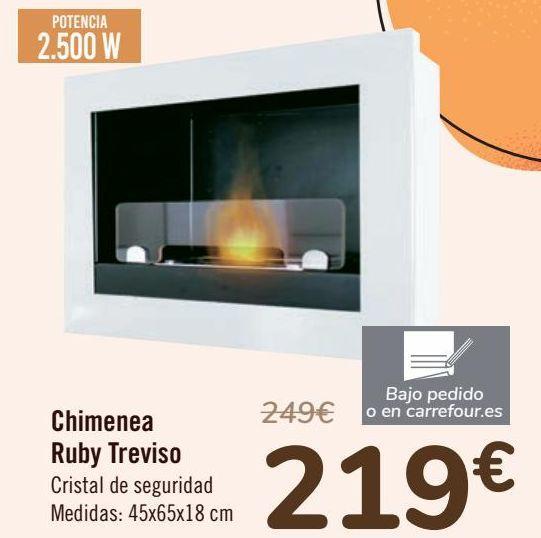 Oferta de Chimenea Ruby Treviso  por 219€
