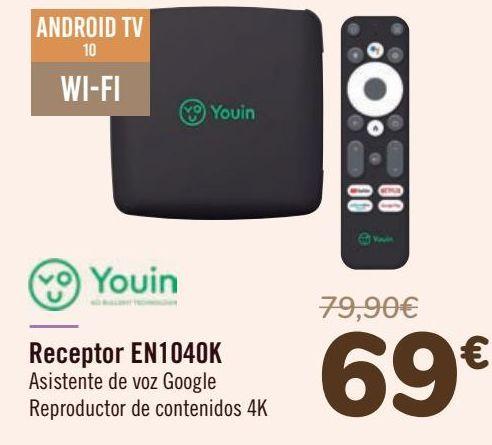 Oferta de Youin Receptor EN1040K por 69€
