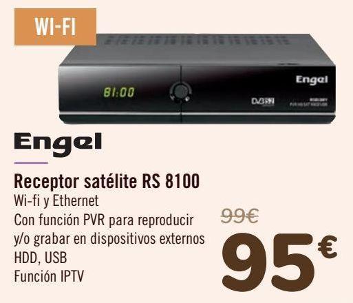 Oferta de Engel Receptor satélite RS 8100 por 95€
