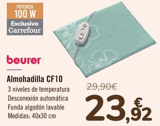 Oferta de Beurer Almohadilla CF10  por 23,92€