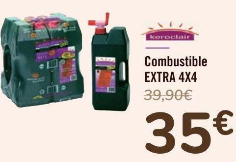 Oferta de Combustible EXTRA 4X4  por 35€