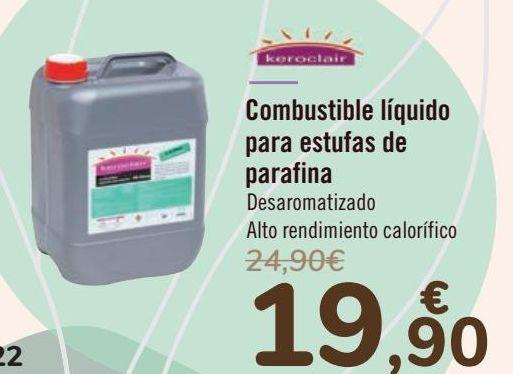 Oferta de Combustible líquido para estufas de parafina  por 19,9€