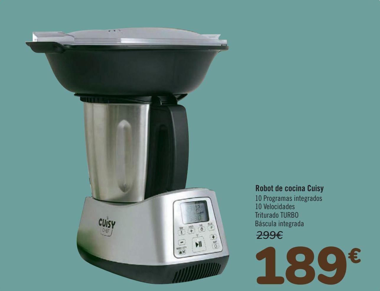Oferta de Robot de cocina Cuisy  por 189€