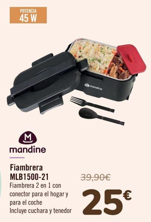 Oferta de Mandine Fiambrera MLB1500-21 por 25€