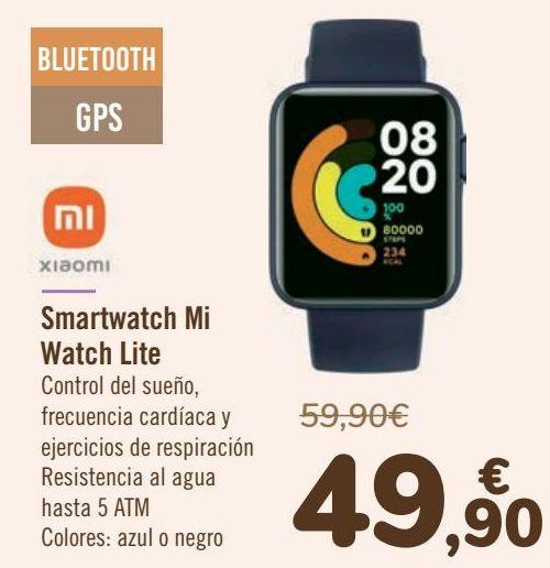 Oferta de XIAOMI Smartwatch Mi Watch Lite por 49,9€