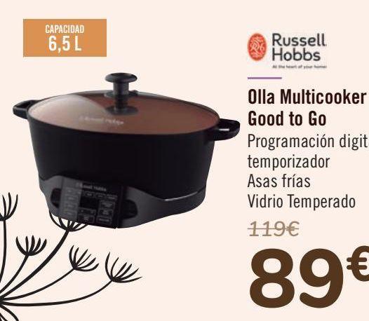 Oferta de Russel Hobbs Olla Multicooker Good to Go por 89€