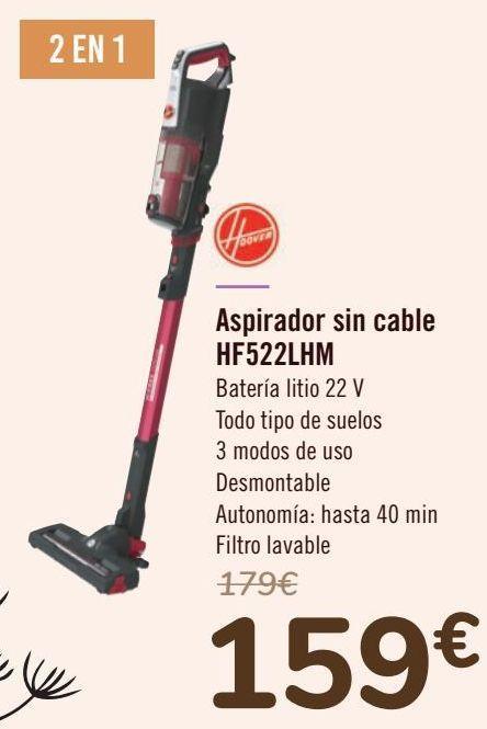 Oferta de Aspirador sin cable HF522LHM  por 159€