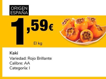 Oferta de Kaki  por 1,59€